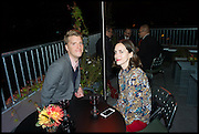TOM LEAMAN; CHARLOTTE MARRA, Frieze party, ACE hotel Shoreditch. London. 18 October 2014