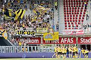 ALKMAAR - 30-08-2015, AZ - Roda JC, AFAS Stadion, 0-1, vreugde na afloop, supporters.