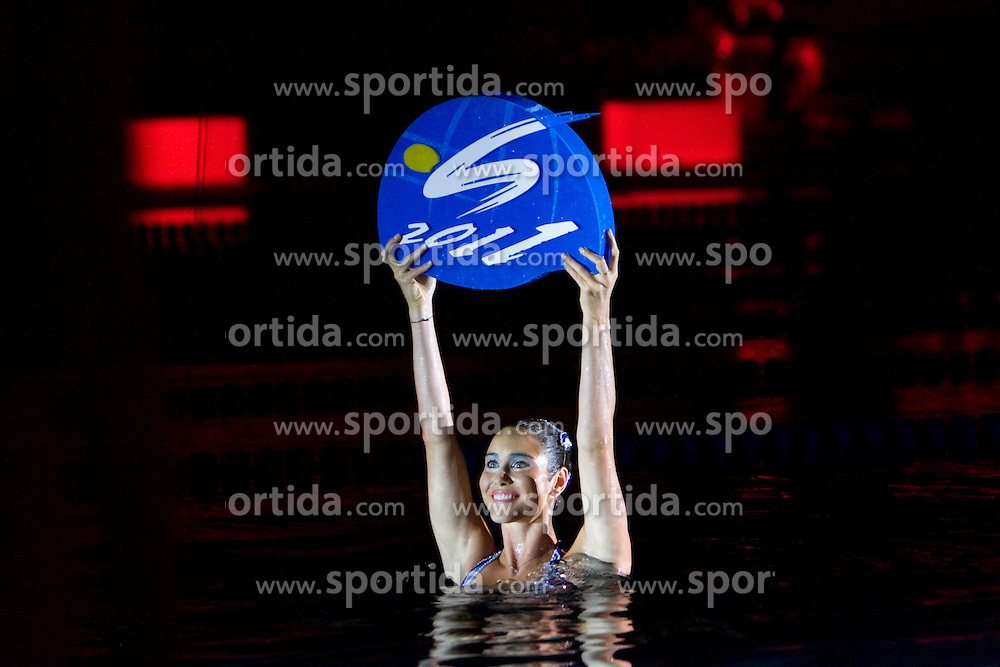 Closing ceremony after the 13th FINA World Championships Roma 2009, on August 2, 2009, at the Stadio del Nuoto,  in Foro Italico, Rome, Italy. (Photo by Vid Ponikvar / Sportida)