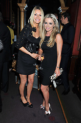 Left to right, TESS DALY and OLA JORDAN at the 39th birthday party for Nick Candy in association with Ciroc Vodka held at 5 Cavindish Square, London on 21st Januatu 2012.