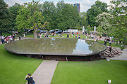 Serpentine Gallery Pavilion 2012 Designed by Herzog & de Meuron and Ai Weiwei . Yoko Ono.- to the Light. Serpentine Gallery. London. 19 June 2012.