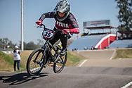 #36 (BULDINSKA Vanesa) LAT  at Round 9 of the 2019 UCI BMX Supercross World Cup in Santiago del Estero, Argentina