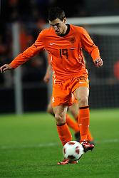 09-02-2011 VOETBAL: NEDERLAND - OOSTENRIJK: EINDHOVEN<br /> Netherlands in a friendly match with Austria won 3-1 / Kevin Strootman NED<br /> ©2011-WWW.FOTOHOOGENDOORN.NL