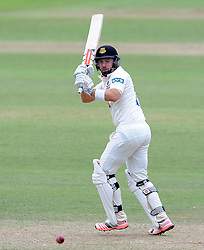 Sussex's Chris Nash flicks the ball - Photo mandatory by-line: Harry Trump/JMP - Mobile: 07966 386802 - 08/07/15 - SPORT - CRICKET - LVCC - County Championship Division One - Somerset v Sussex- Day Four - The County Ground, Taunton, England.