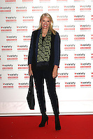 Anneka Rice, Variety Hall of Fame, London Hilton UK, 18 October 2016, Photo by Richard Goldschmidt