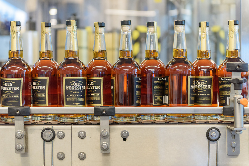 as visitors will see when the Old Forester Distilling Company on Whisky Row in Louisville, Ky., opens for tours. June 6, 2018