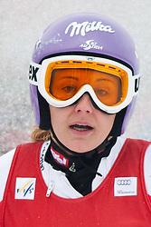 11.03.2010, Kandahar Strecke Damen, Garmisch Partenkirchen, GER, FIS Worldcup Alpin Ski, Garmisch, Lady Giant Slalom, im Bild Kirchgasser Michaela, ( AUT, #13 ), Ski Atomic, EXPA Pictures © 2010, PhotoCredit: EXPA/ J. Groder / SPORTIDA PHOTO AGENCY
