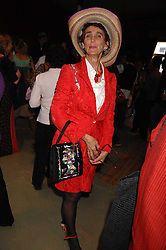 LADY HENRIETTA ROUS at a party to celebrate the publication of 'The Scent Trail' by Celia Lyttelton held at the London Studio of Paul Benney, 760 Harrow Road, London NW10 on 10th July 2007.<br />
