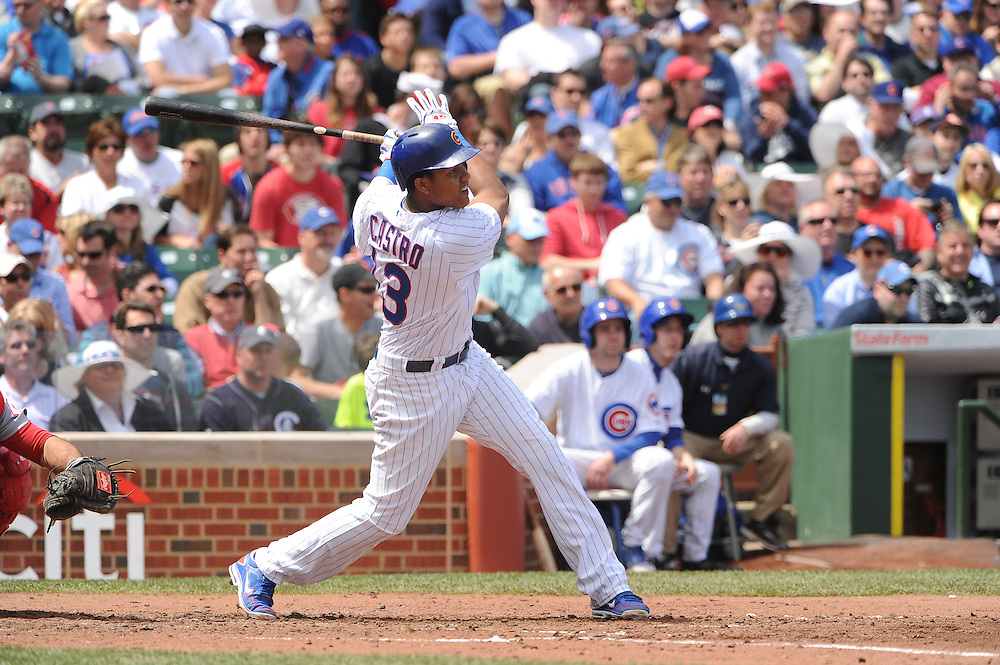 (AP Photo/Micah Tapman)Reds @ Cubs May 4,  2013