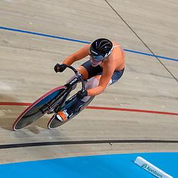 03-03-2018: Wielrennen: WK Baan: Apeldoorn<br />Kyra Lambrink kwalificeerde zich op de 500meter met zesde tijd voor de finale