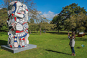 Jean Dubuffet,<br /> Tour aux récits, (after maquette dated 19 July 1973) 1973,<br /> Waddington Custot Galleries - The Frieze Sculpture Park 2016 comprises 19 large-scale works, set in the English Gardens between Frieze Masters and Frieze London. Selected by Clare Lilley (Yorkshire Sculpture Park), the Frieze Sculpture Park will feature 19 major artists including Conrad Shawcross, Claus Oldenburg, Nairy Baghramian, Ed Herring, Goshka Macuga and Lynn Chadwick. The installations will remain on view until 8 January 2017.