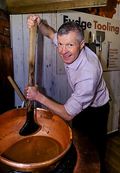 Pictured: Willie Rennie gets into a sticky situation<br />