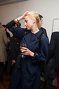 VICTORIA CAMBLIN, Opening of Morris Lewis: Cyprien Gaillard. From Wings to Fins, Sprüth Magers London Grafton St. London. Afterwards dinner at Simpson's-in-the-Strand hosted by Monika Spruth and Philomene Magers.