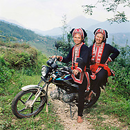 Ethnic portrait in Hoang Su Phi District, Vietnam, Southeast Asia