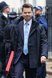 © Licensed to London News Pictures. 15/10/2018. London, UK. Secretary of State for Housing, Communities and Local Government James Brokenshire on Downing Street. Photo credit: Rob Pinney/LNP
