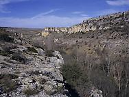 Eroded Gorge, Zaragosa, Spain