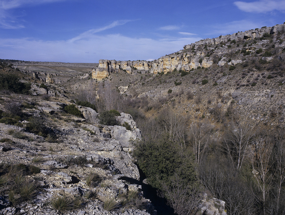 Eroded Gorge, Zaragosa, Spain