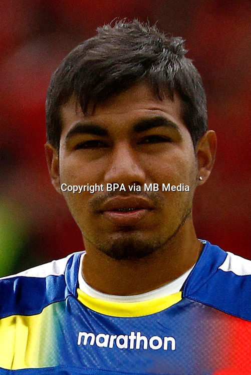 Football Fifa Brazil 2014 World Cup / <br /> Ecuador National Team - <br /> Junior Sornoza of Ecuador