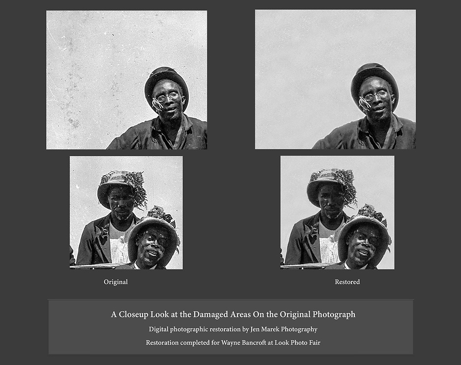 Images restored for Look Photo Fair.