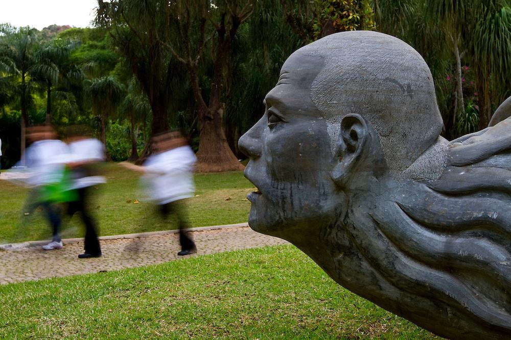 Brumadinho_MG, Brasil...Museu de Arte Contemporanea de Inhotim (CACI) em Brumadinho, Minas Gerais...Inhotim Contemporary Art Museum (CACI) in Brumadinho, Minas Gerais...Foto: NIDIN SANCHES / NITRO