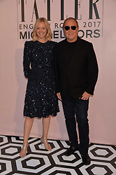 Kate Reardon and Michael Kors at the Tatler's English Roses 2017 party in association with Michael Kors held at the Saatchi Gallery, London England. 29 June 2017.<br /> Photo by Dominic O'Neill/SilverHub 0203 174 1069 sales@silverhubmedia.com