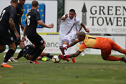 July 28, 2018 - Trento, TN, Italy - Luigi Sepe during the Pre-Season friendly between Sampdoria and Parma, in Trento on July 28, 2018, Italy  (Credit Image: © Emmanuele Ciancaglini/NurPhoto via ZUMA Press)