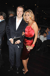 TOM PARKER-BOWLES and TARA ARCHER  at the opening of Marco the new Marco Pierre White restaurant at Stamford Bridge, Fulham Road, London on 25th September 2007.<br />