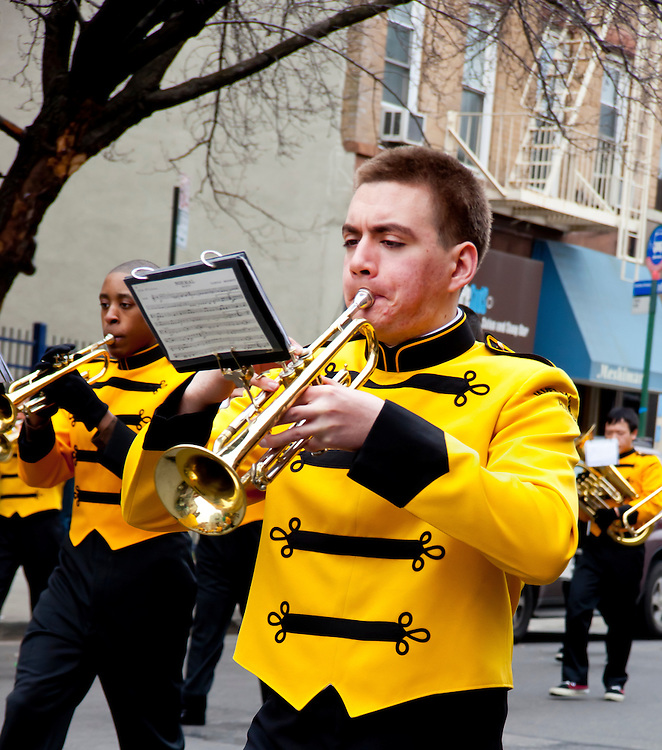Member of the James Madison High School Band.