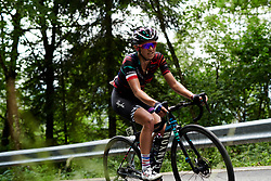 Kasia Niewiadoma (POL) climbs during Stage 8 of 2019 Giro Rosa Iccrea, a 133.3 km road race from Vittorio Veneto to Maniago, Italy on July 12, 2019. Photo by Sean Robinson/velofocus.com