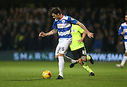 Queens Park Rangers defender Gabriele Angella (26) during the Sky Bet Championship match between Queens Park Rangers and Brighton and Hove Albion at the Loftus Road Stadium, London, England on 15 December 2015.
