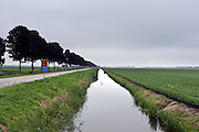 North Holland landscape with vanishing perspective