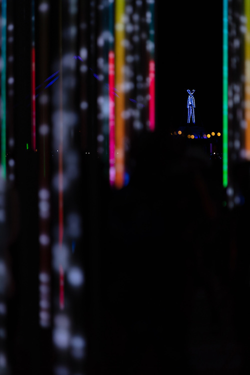 Hexatron by: Mark Lottor from: Menlo Park, CA year: 2018 A forest of 486 20ft tall LED light poles, arranged in a hexagon shape of approximately 90ft diameter, displaying 3D computer contr'd effects. My Burning Man 2018 Photos:<br /> https://Duncan.co/Burning-Man-2018<br /> <br /> My Burning Man 2017 Photos:<br /> https://Duncan.co/Burning-Man-2017<br /> <br /> My Burning Man 2016 Photos:<br /> https://Duncan.co/Burning-Man-2016<br /> <br /> My Burning Man 2015 Photos:<br /> https://Duncan.co/Burning-Man-2015<br /> <br /> My Burning Man 2014 Photos:<br /> https://Duncan.co/Burning-Man-2014<br /> <br /> My Burning Man 2013 Photos:<br /> https://Duncan.co/Burning-Man-2013<br /> <br /> My Burning Man 2012 Photos:<br /> https://Duncan.co/Burning-Man-2012