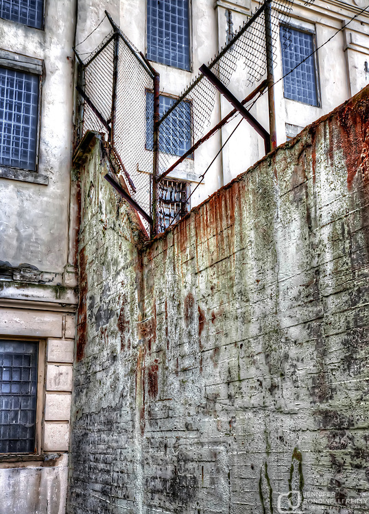 Photo taken exploring San Francisco's Alcatraz Island.