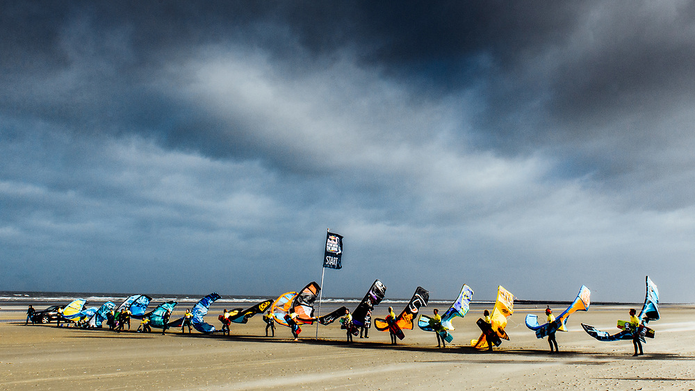 at Red Bull Gone with the wind , in Oostduinkerke, Belgium on March 2, 2017 .