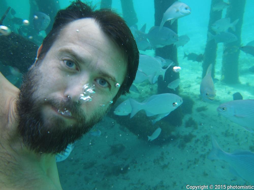 fish selfie
