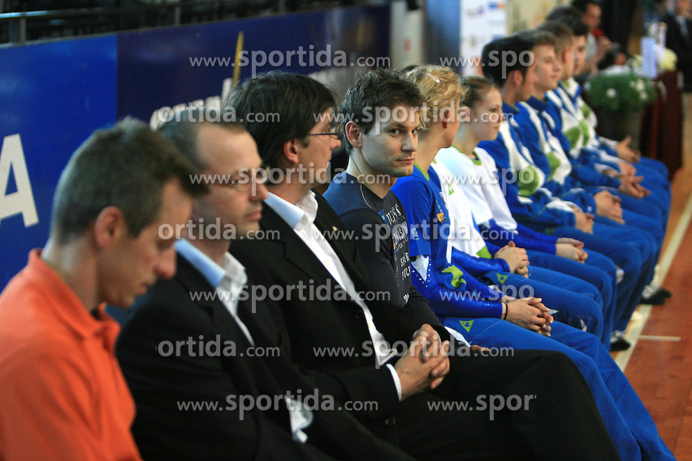 "Mitja Petkovsek at event ""Slovenian Gymnastics stars"" after the European Championships in Milano, on April 6, 2009, in Hall Slovan, Kodeljevo, Ljubljana, Slovenia. (Photo by Vid Ponikvar / Sportida)"