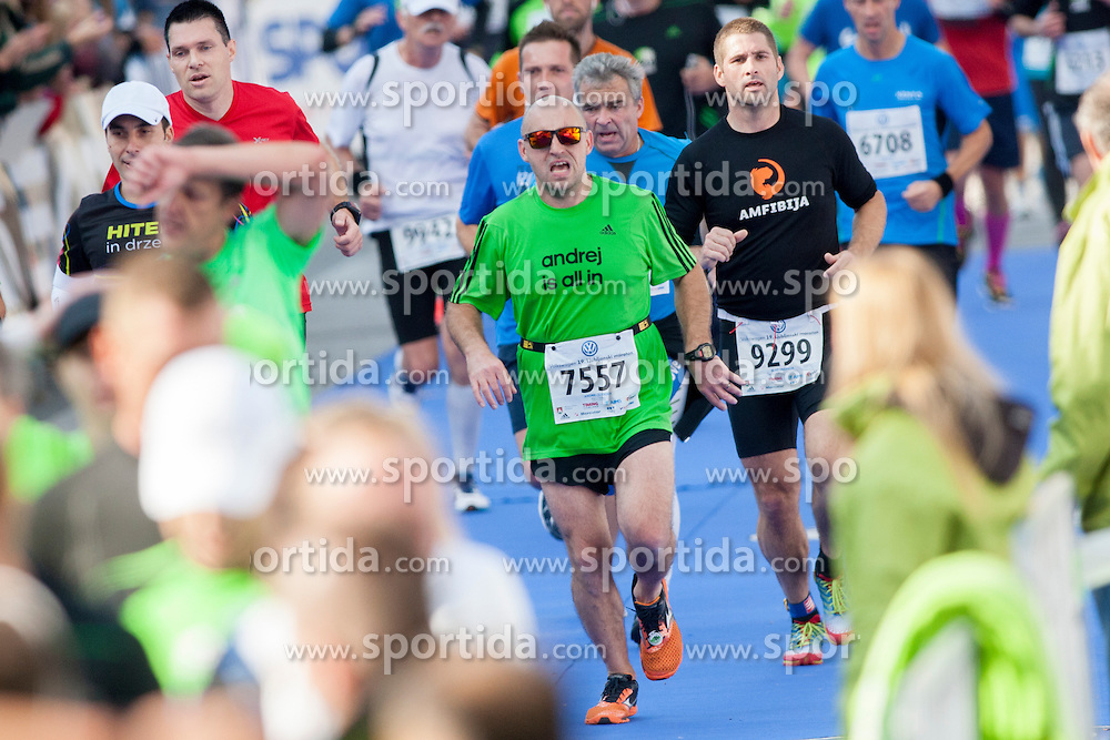 Andrej Zlender during 19th Ljubljana Marathon 2014 on October 26, 2014 in Ljubljana, Slovenia. Photo by Urban Urbanc / Sportida.com
