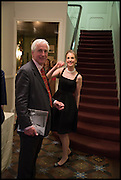 HUGO VICKERS; MAUREEN FOOTER, Nicky Haslam hosts a party to launch a book by  Maureen Footer 'George Stacey and the Creation of American Chic' . With a foreword by Mario Buatta. Kensington. London. 11 June 2014