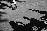 Shadow Audience at the Central Park Roller Disco