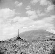 Landscape, Border of Uganda, Ruanda-Urundi (now Rwanda), Africa, 1937