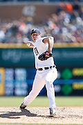 DETROIT, MI - APRIL 19: Max Scherzer #37 of the Detroit Tigers pitches during the game against the Los Angeles Angels at Comerica Park on April 19, 2014 in Detroit, Michigan. The Tigers won 5-2. (Photo by Joe Robbins)