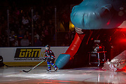 KELOWNA, CANADA - SEPTEMBER 21: Pepsi Player of the Game at the Kelowna Rockets game on September 21, 2019 at Prospera Place in Kelowna, British Columbia, Canada. (Photo By Cindy Rogers/Nyasa Photography, *** Local Caption ***
