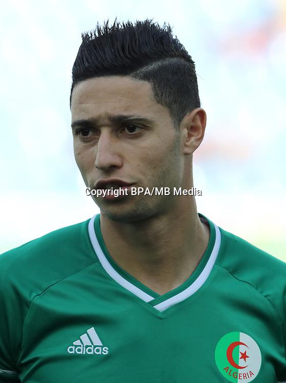 Fifa Men´s Tournament - Olympic Games Rio 2016 - <br /> Algeria National Team -  <br /> Mohammed BENKABLIA