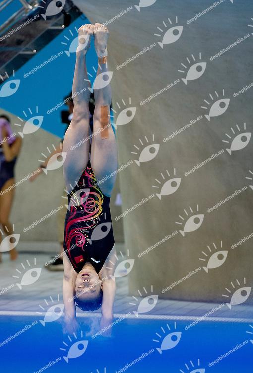 WU Minxia China (gold medal).3m women springboard.Synchronized Swimming preliminaries.London 2012 Olympics - Olimpiadi Londra 2012.day 10 Aug.5.Photo G.Scala/Deepbluemedia.eu/Insidefoto