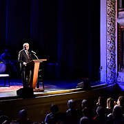Tom Brokaw speaks at The Music Hall, May 20, 2015