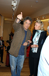 SIR TOM STOPPARD at a party to celebrate the publication of Drawing Blood -Forty-Five Years of Scarfe Uncensored, a book of Gerald Scarfe's work held at The Fine Arts Society, New Bond Street, London on 3rd November 2005.<br /><br />NON EXCLUSIVE - WORLD RIGHTS