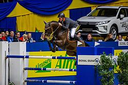 WERNKE Jan (GER), Nashville HR<br /> -Stechen -<br /> SIGNAL IDUNA Gruppe und Böckmann <br /> Das Championat der SIGNAL IDUNA<br /> Internationale Springprüfung mit Stechen - 1,50m<br /> Dortmund - Signal Iduna Cup 2020<br /> 14.03.20<br /> © www.sportfotos-lafrentz.de/Stefan Lafrentz