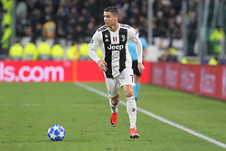 November 27, 2018 - Turin, Piedmont, Italy - Cristiano Ronaldo (Juventus FC) in action during the UEFA Champions League match between Juventus FC and Valencia CF, at Allianz Stadium on November 27, 2018 in Turin, Italy. .Juventus won 1-0 over Valencia. (Credit Image: © Massimiliano Ferraro/NurPhoto via ZUMA Press)