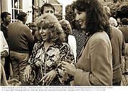 Erica Jong & Carol Ryan. ( Mrs Ed Victor. ) Ed Victor party at his house in Bridgehampton. Long Island. 1989.<br />© Copyright Photograph by Dafydd Jones 66 Stockwell Park Rd. London SW9 0DA Tel 0171 733 0108