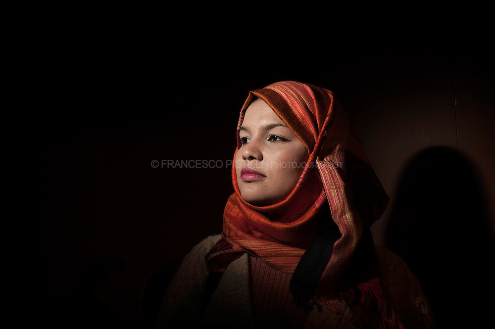 "December 6, 2011. Egypt. Cairo. Samira Ibrahim Mohamed, 25 years old. She is the first woman to take the Egyptian army to court for subjecting her to torture and abuse, including to a so-called ""virginity test"". © Francesco Pistilli"